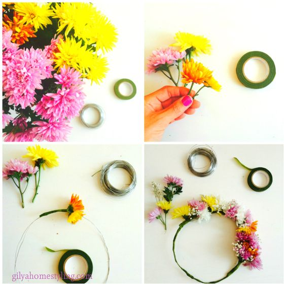 DIY Head Band Collage