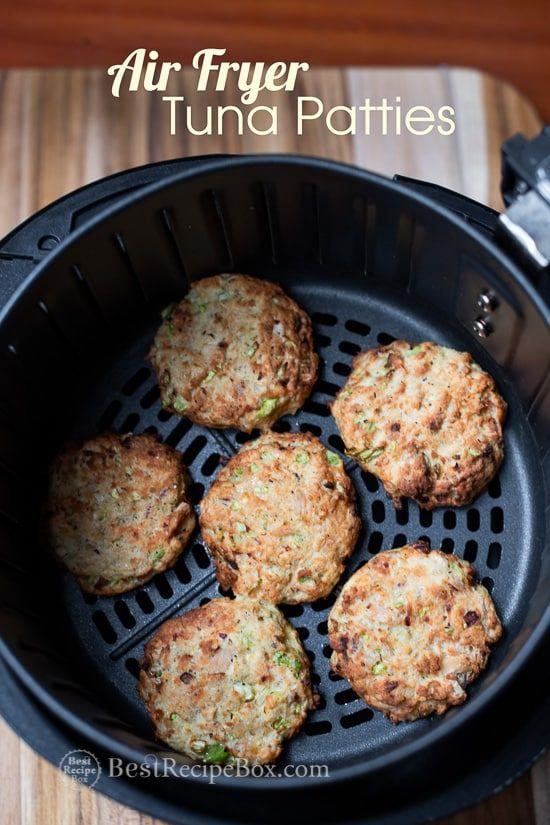 Air Fryer Tuna Patties