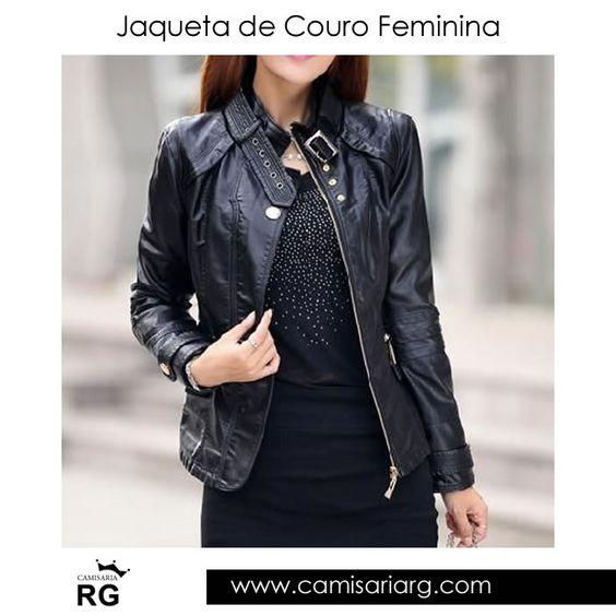 Jaqueta de Couro Feminina. Mais de 70 modelos em Promoção!  COMPRE AGORA www.camisariarg.com/jaqueta-de-couro-perfecto-feminina-09-36c.html