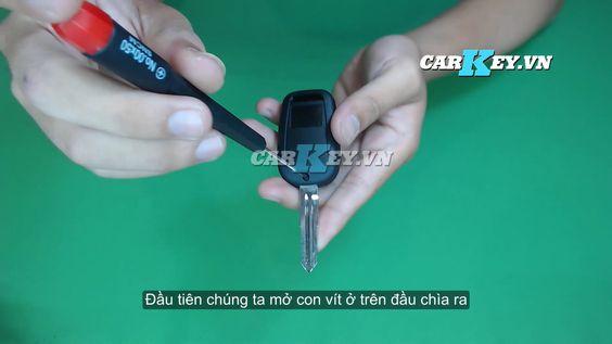 Hướng dẫn thay vỏ chìa khóa ô tô Chevrolet Captiva - Carkey.vn