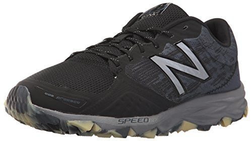 New Balance Mens mt690v2 Trail Running Shoes Black/Grey 11 D US Review  https:
