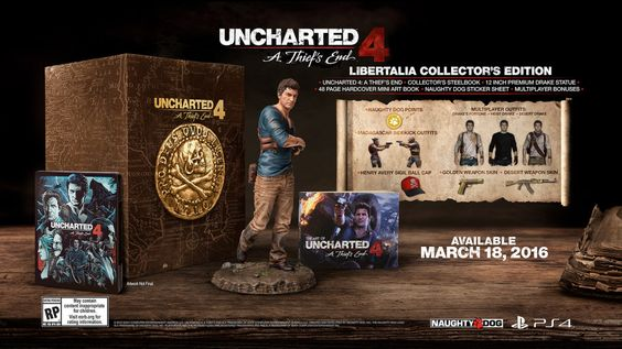 REJOICE! #Uncharted4: A Thief's End' hits #PS4 on March 18th