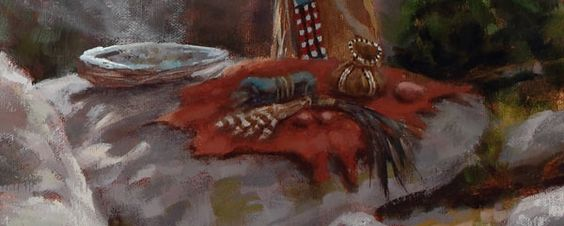 South Dakota Native American Artists | ... Offerings | Lakota prayers | Native American art | James Ayers Studios