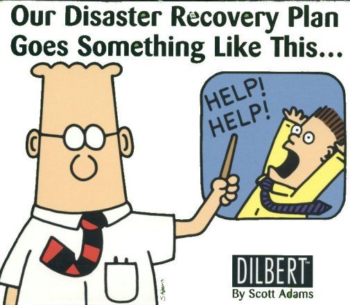 Dilbert Disaster Recovery Plan Survival Today Pinterest - recovery plan