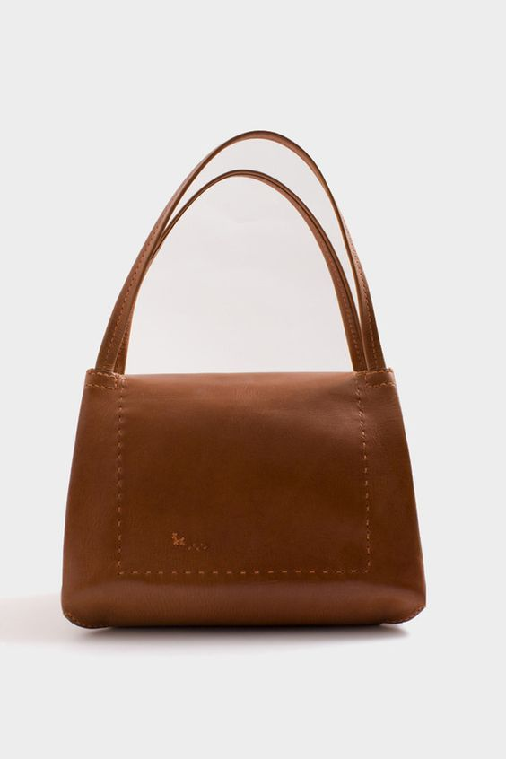 Tan Sublime Bag by henry cuir