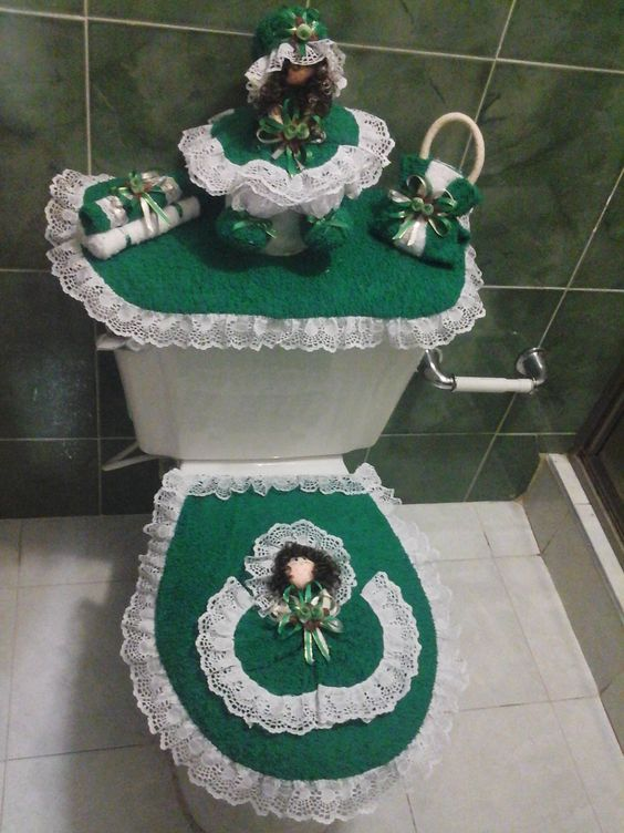 vestido para baño en toalla  navideños 52 juegos de baño ...