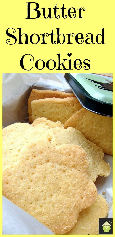 Classic Butter Shortbread Recipe — Dishmaps