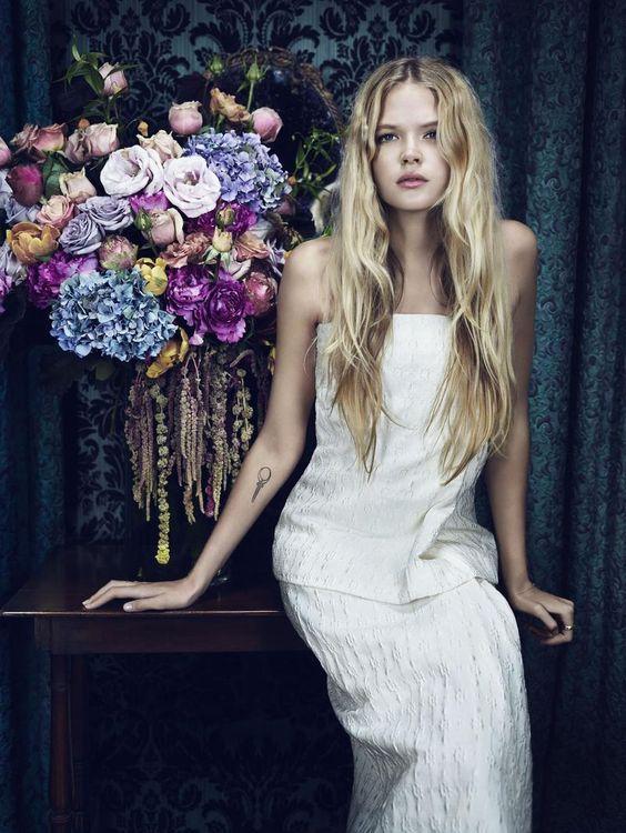 Vanity Fair February 2014 |  Gabriella Wilde photographed by Emma Summerton
