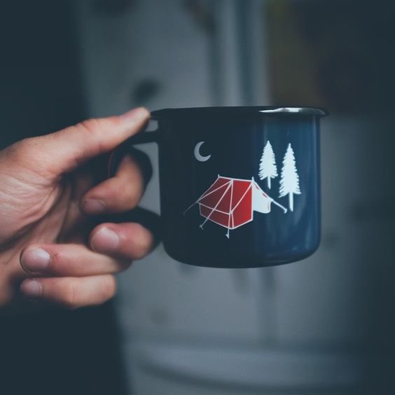 I love this, but the LAST thing I need is more mugs, and I don't go camping often enough to justify it...:(