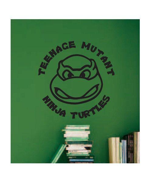 Ninja Turtle Vinyl Wall Decal Sticker kids bedroom by ColtonsPlace