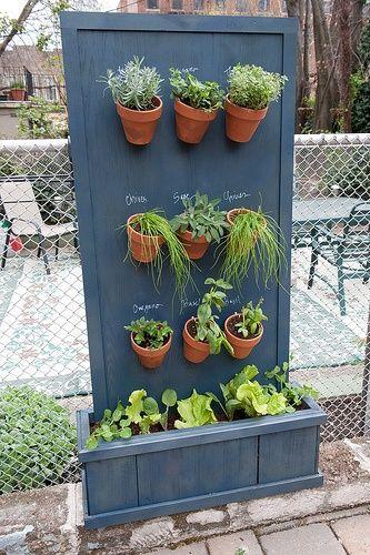 Vertical Herb Garden...I am doing this!! :) staciwoods