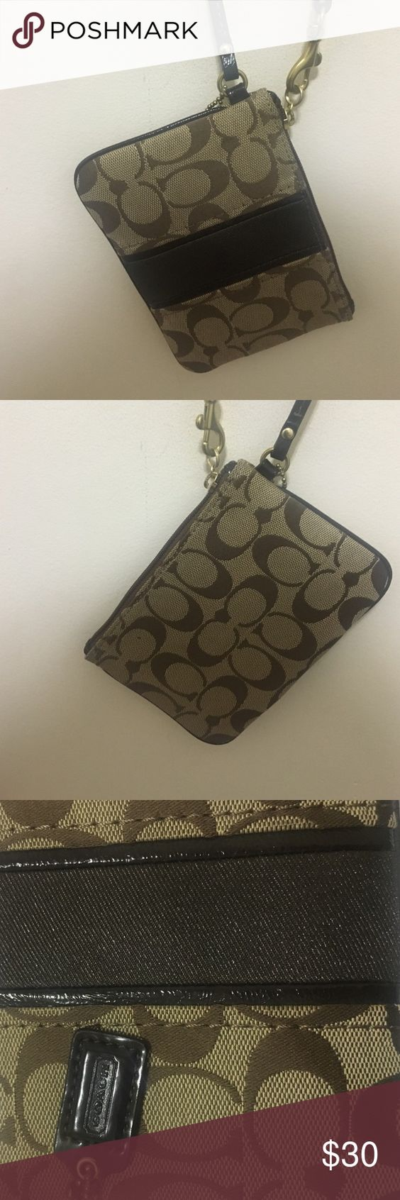 Coach Wristlet used maybe two times .. just like new Coach Accessories
