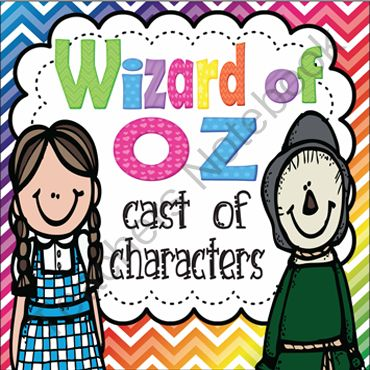Wizard of Oz Differentiated Activities for First Grade Common Core from Ivy Taul on TeachersNotebook.com -  (20 pages)  - Wizard of Oz Cast of Character booklet aligned with CCSS standards for first grade. Students create their own Wizard of Oz cast of characters book by listing adjectives that describes each character in the Wizard of Oz. Duration would most likely be 1-2 w