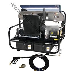 Hot Water Diesel Pressure Washer-Kohler-Key Start-210F-7GPM-4000PSI sku:19K42