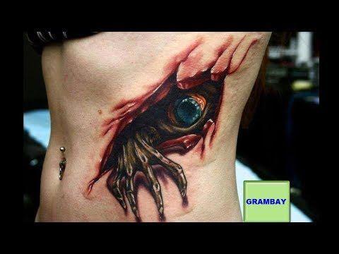 Los Tatuajes Mas Impresionantes Del Mundo Youtube Tatuaje 3d Tatuajes 3d Tatuaje De Horror