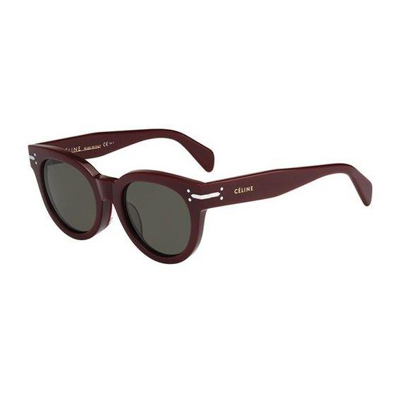 Celine Cl 41047/f/s Celine SUNGLASSES ($291) ❤ liked on Polyvore featuring accessories, eyewear, sunglasses, celine sunglasses, celine glasses and celine eyewear