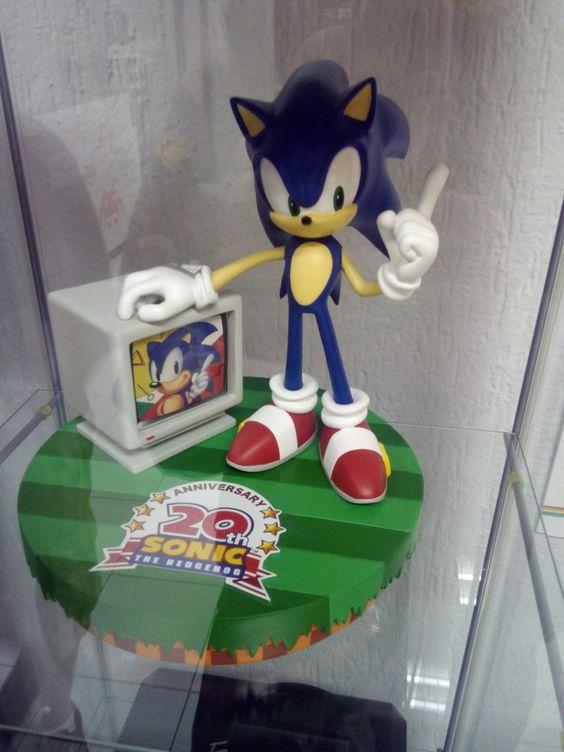 Statuetta commemorativa 20esimo anniversario di Sonic