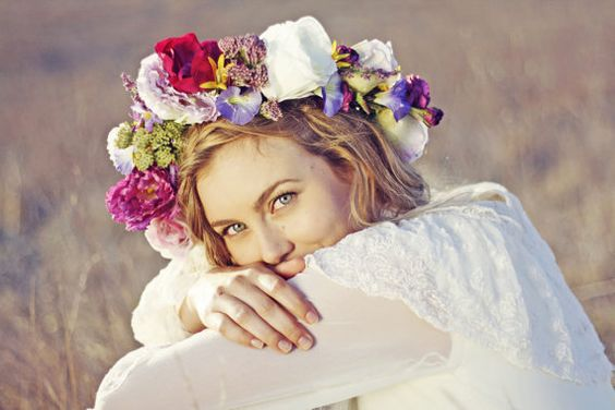 Flowers crown: