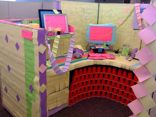 best images about cubicle ideas on pinterest office pictures christmas pranks and office prank - Funny Christmas Cubicle Decorating Ideas