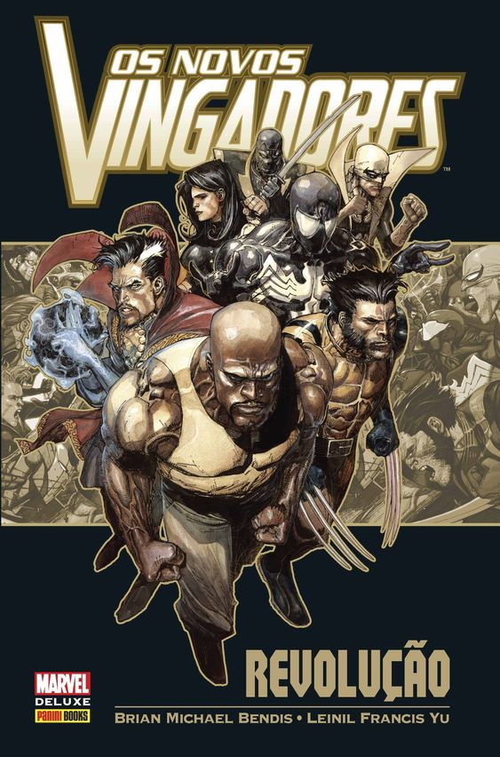 Os Novos Vingadores - Revolução - Marvel Deluxe - MonsterBrain