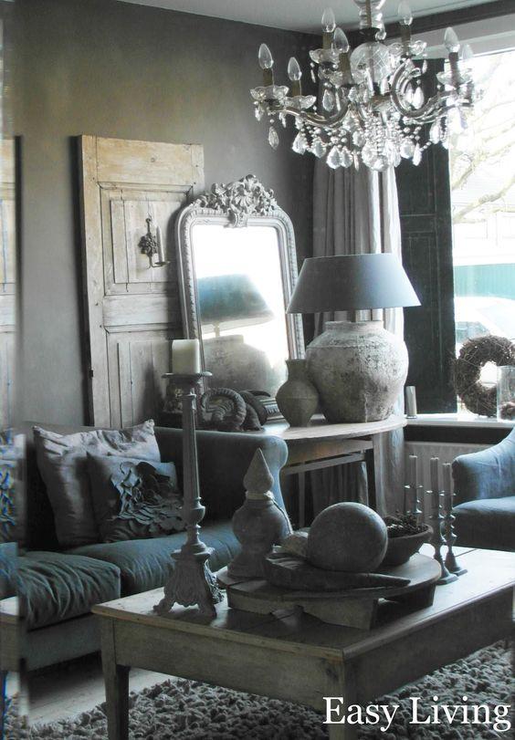 Met accessoires kun je ieder huis een eigen sfeer geven piet klerkx h o m e pinterest - Deco lounge huis schilderen ...