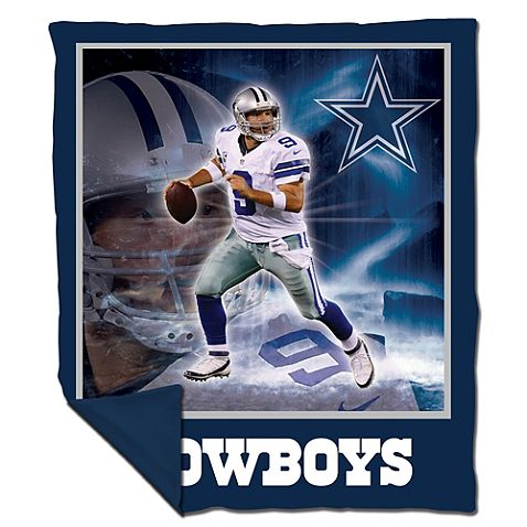 NFL Dallas Cowboys Tony Romo Snuggle Cover Throw; $39.99
