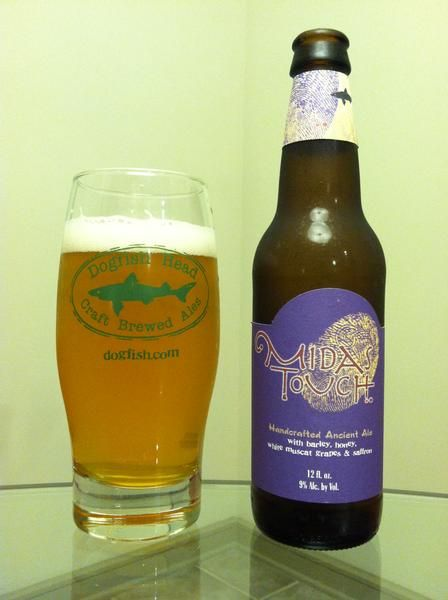 BrewChief.com Review of Midas Touch (Dogfish Head Craft Brewery) : For craft brew fans, the mere mention of the Dogfish Head Craft Brewery will produce one of two very predictable reactions. First, from the more adventurous side of the spectrum, showers of praise and stories of favorite experiences take over the conversation. But on the more steadfast side, they don't understand the appeal and dismiss the brewery as too strange. I used to be moderately offended by self proclaimed craft…