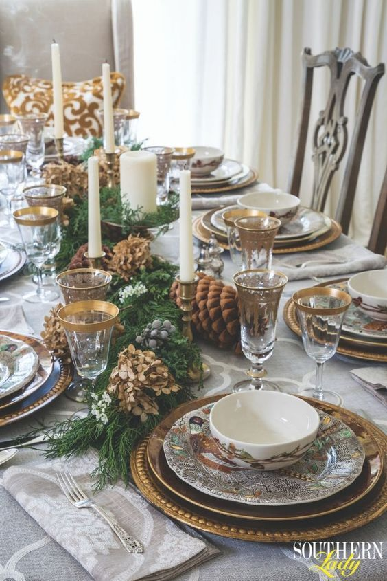100 Cheap And Easy Christmas Centerpiece Ideas That You Can Make In A Jiff Winter Dining Table Decor Christmas Dinner Table Christmas Table
