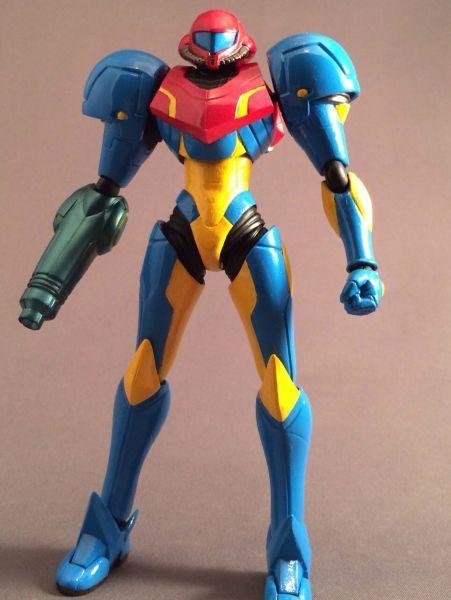 Samus aran, Custom action figures and Metroid on Pinterest
