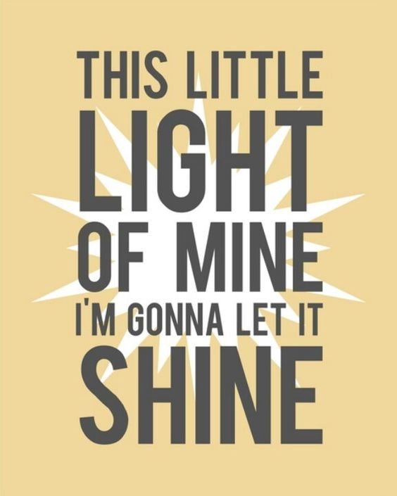 this little light of mine pictures | This little light of mine I'm gonna let it shine.