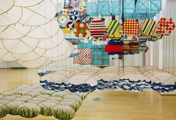 Venice biennale: Gas Giant by Jacob Hashimoto