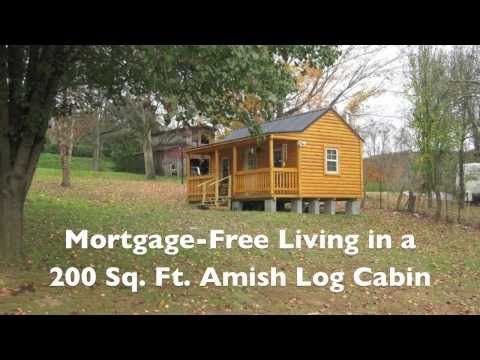 Amish Log Cabins And Logs On Pinterest