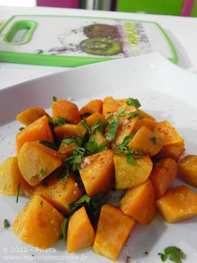 Cuisine antillaise papates douces saut es 2 recettes - Cuisine creole antillaise ...