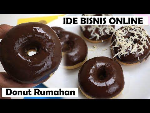 Ide Bisnis Online Hanya Buat Donat Coklat Keju Tanpa Cetakan Lembut Anti Gagal Bisa Go Food Youtube Donat Makanan Keju
