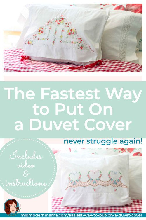 The Easiest Way To Put On A Duvet Cover Mid Modern Mama Duvet Covers Duvet Comforter Cover