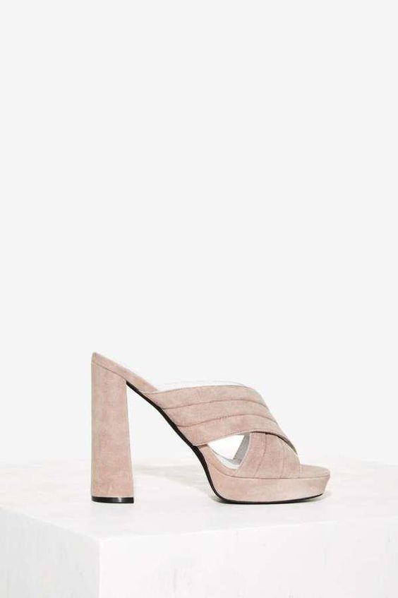 Pin for Later: Nail Spring's Hottest Shoe Trends — Without Breaking $200  Jeffrey Campbell Kenobi Suede Mule ($135)