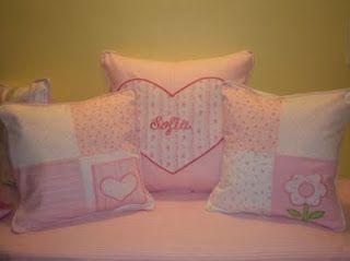 Almohadones infantiles ideas para decorar dormitorio - Almohadones para decorar sillones ...