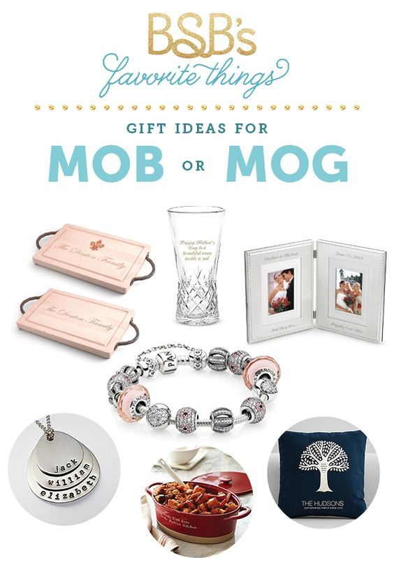 Gift Guide: Mother of the Bride / Groom The Budget Savvy Bride