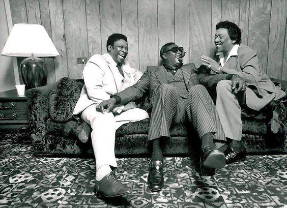 B.B King, Albert King, Bobby Blue Bland.: