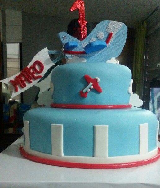 Avioncito cake
