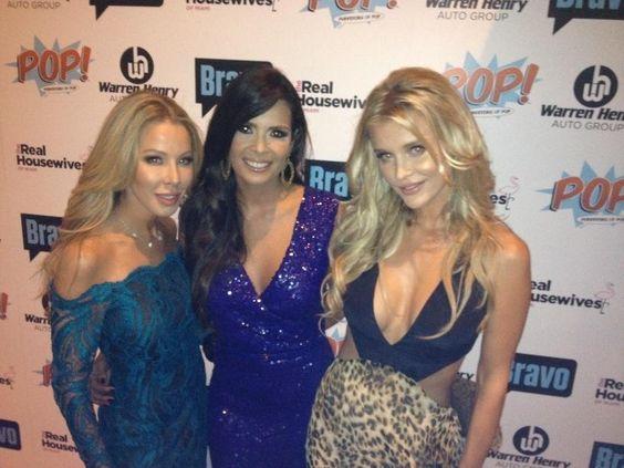 Real Housewives of Miami Lisa Hochstein, Karent Sierra, Joanna Krupa Season 2 Premiere Party love my WolfPack