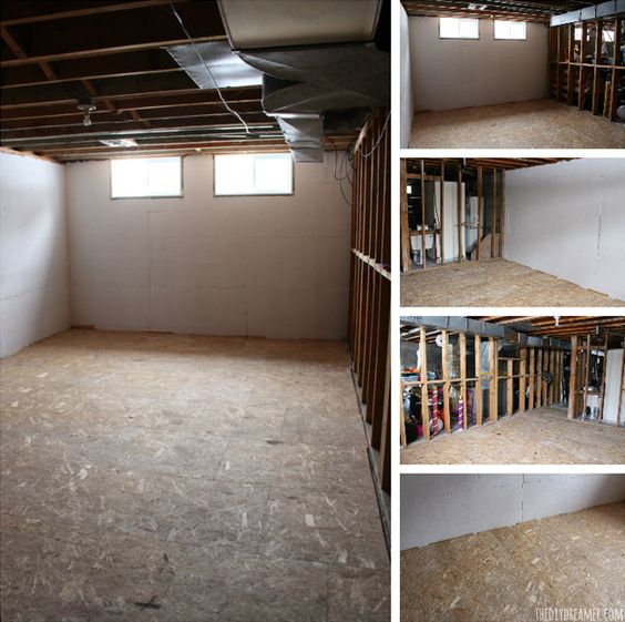 Basements, Basement Renovations And Cushions On Pinterest