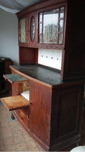 Küchenschrank antik buffet   anrichte in antiquitäten & kunst ...