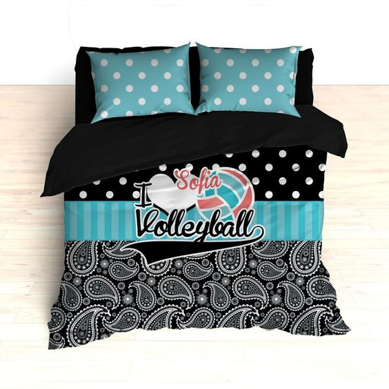 Volleyball bedding