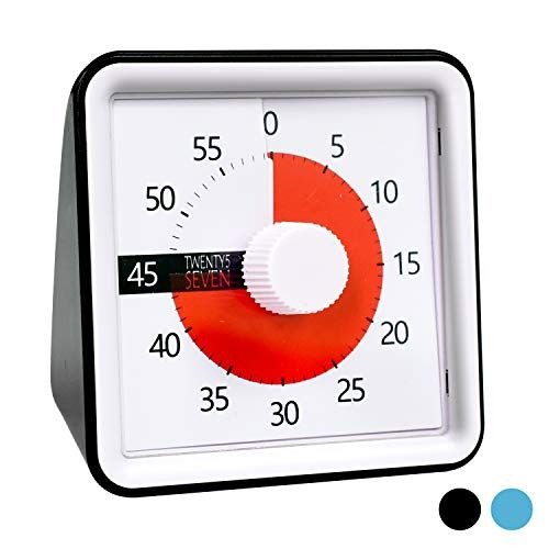 Countdown Timer 3 Inch 60 Minute 1 Hour Visual Timer Classroom Teaching Tool Office Meetin In 2020 Clock For Kids Countdown Timer Timer