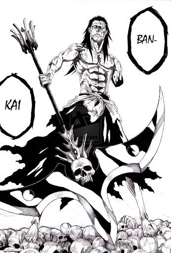 Kenpachi's ban-kai |Bleach... all hell is gonna break lose