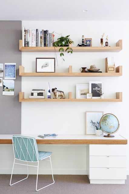 17 Scandinavian Home Office Designs That Abound With Simplicity & Elegance  | Office designs, Interiors and Spaces