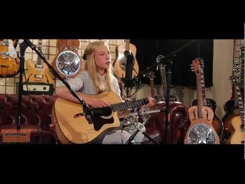 Billie Tweddle (ONLY 13yrs old! wow) - Headlights (original) - Ont' Sofa Gibson Sessions