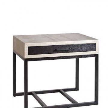 Riviera 2 Side Table / Ecco Trading Size: 78 X 55 X 66cm H