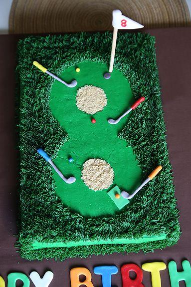 Miniature golf, Golf cakes and Golf on Pinterest